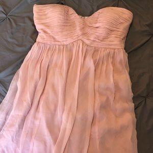 Pale pink knee length cocktail dress💗👗💕
